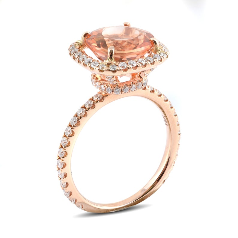 imperial topaz engagement rings