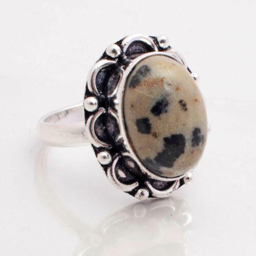 dalmatian jasper rings
